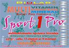 Sport 1 Pro - Multifunktsionaalne dieetkontsentraat intensiivselt treenivatele sportlastele